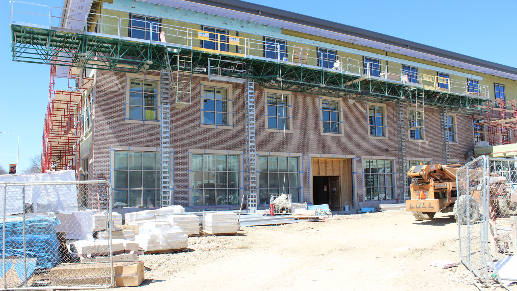 image of ongoing work at the chez center for wounded veterans