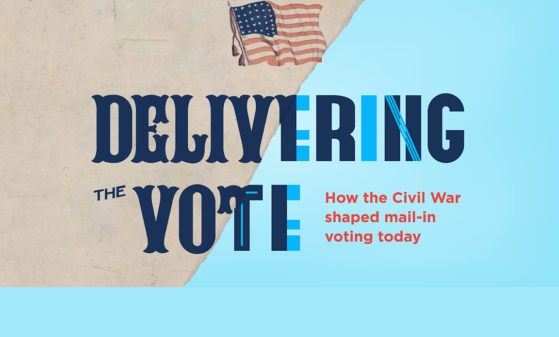 graphic - Delivering the vote: how the civil war shaped mail-in voting today