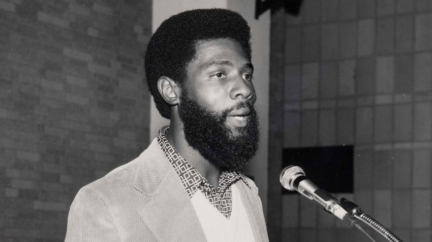 young professor anderson sports a beard