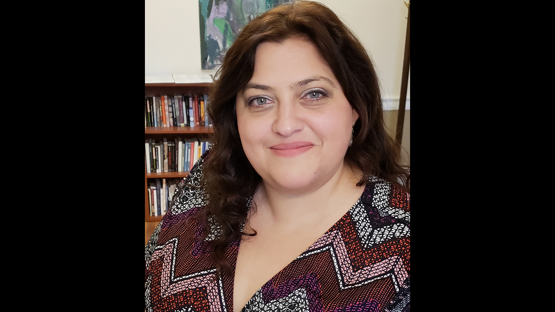 Rachel S. Harris, a professor in the Program in World and Comparative Literature and in The Program in Jewish Culture and Society.  Photo courtesy Rachel Harris