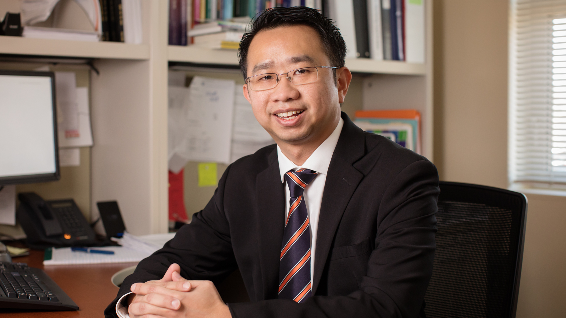 Professor Kevin Tan. Photo by Fred Zwicky