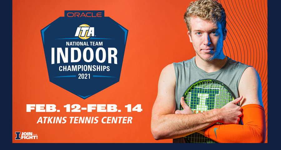 redshirt junior Alex Brown featured in graphic promo for the event
