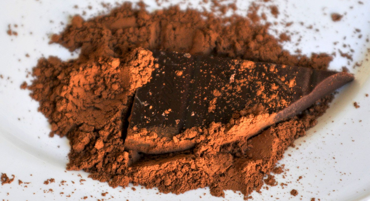 stock image of cocoa by Pixabay
