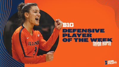 Defensive Player of the Week in the Big Ten Taylor Kuper