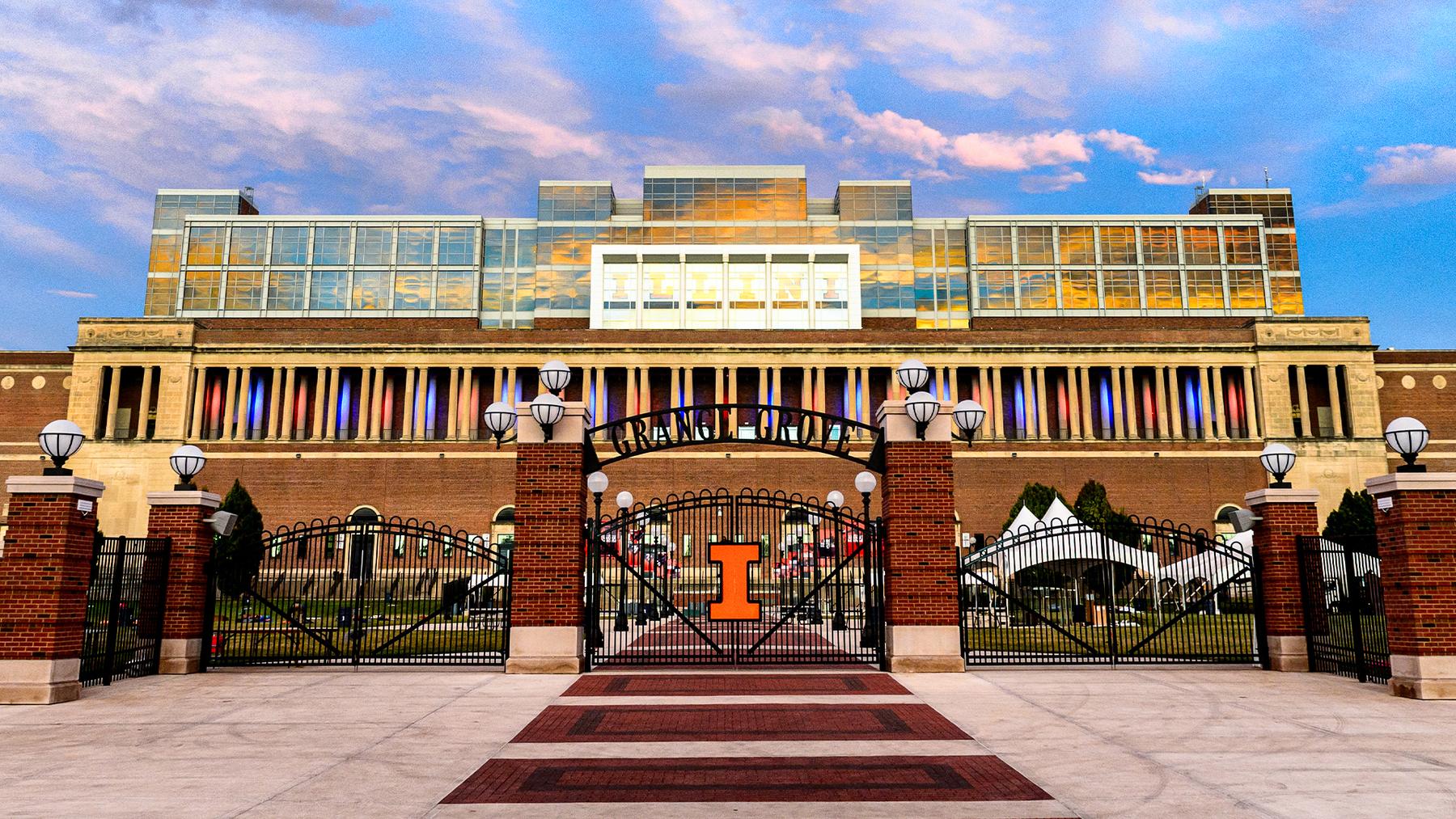 memorial stadium at Illinois