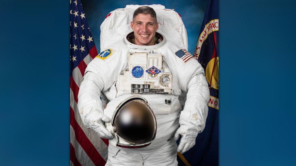 NASA photo of Michael Hopkins