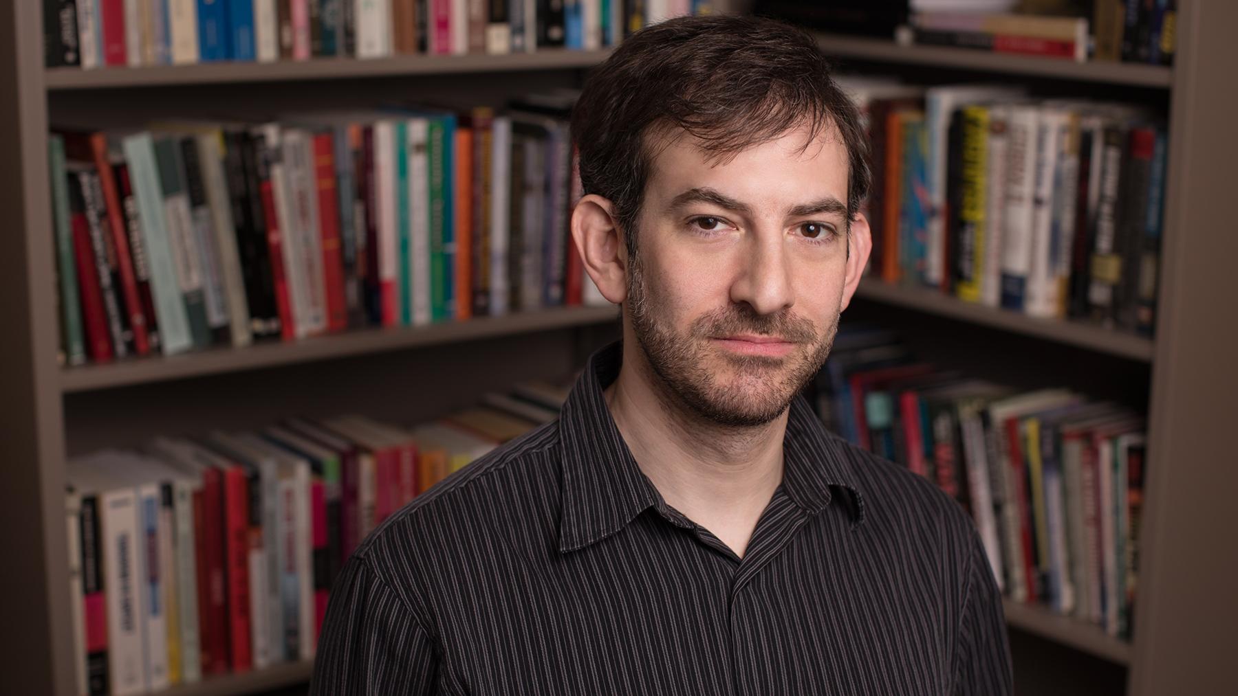 political science professor Nick Grossman. Photo by L. B. Stauffer