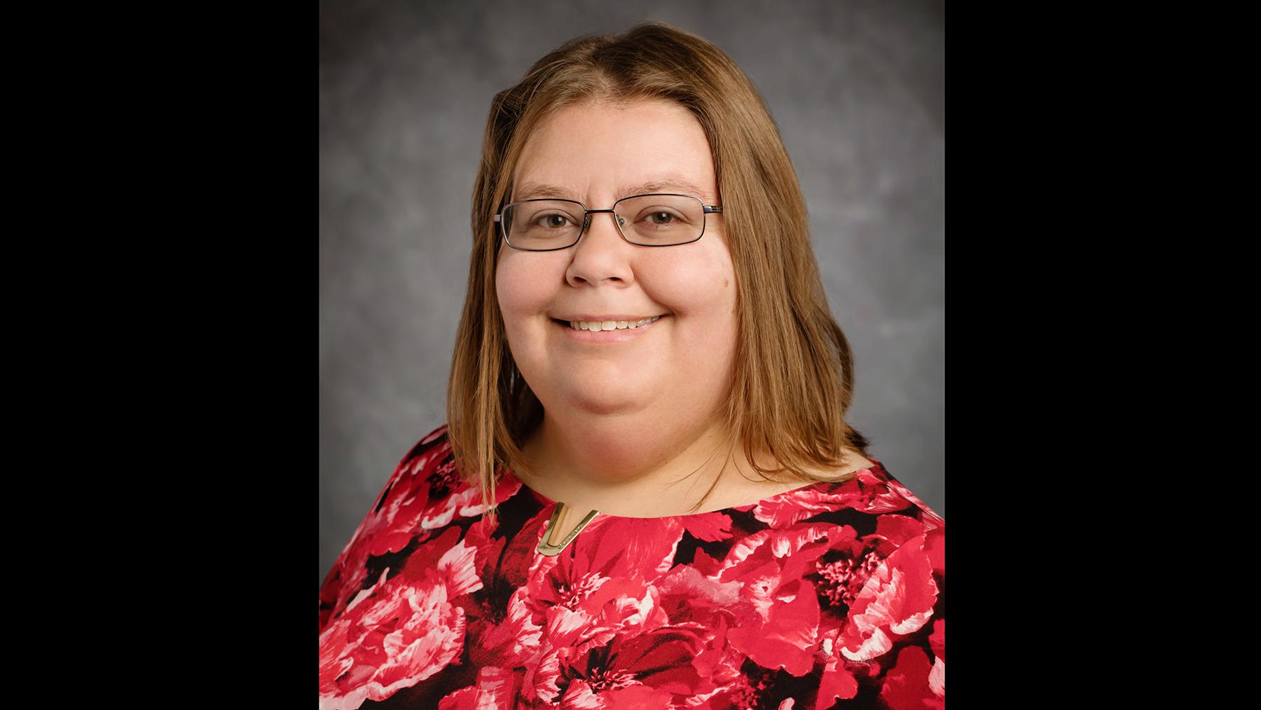 Information sciences professor Jodi Schneider.  Photo by L. Brian Stauffer