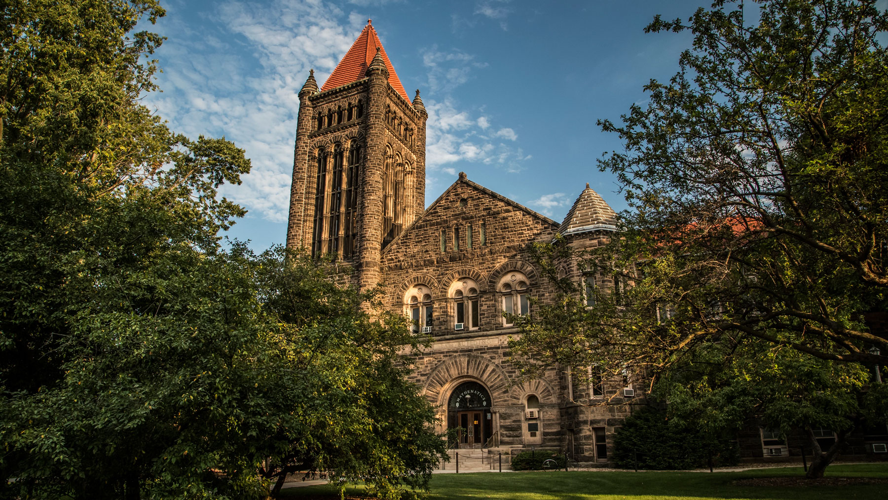 Altgeld Hall, longtime home of the Department of Mathematics