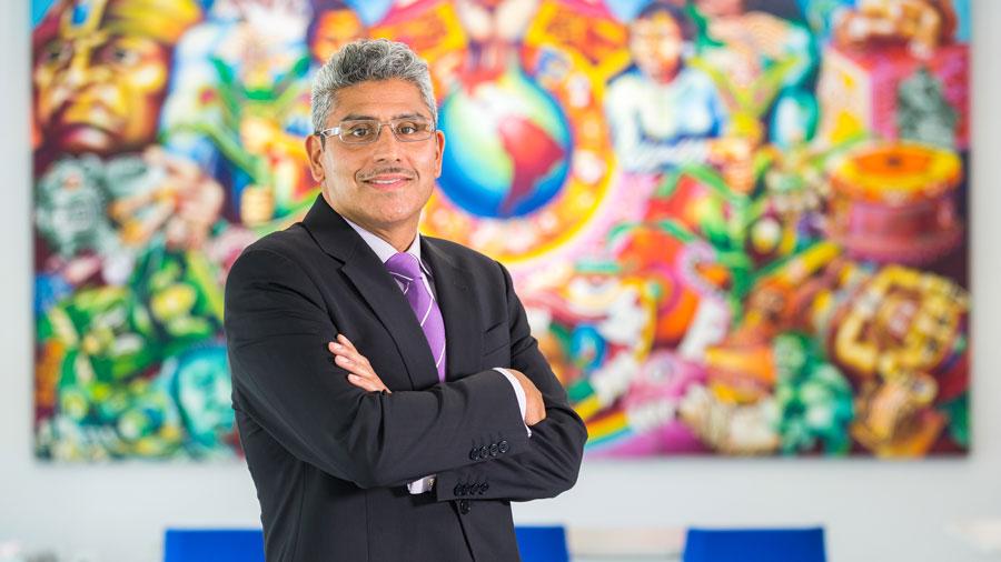 image of alumnus Juan Salgado, courtesy of the MacArthur Foundation