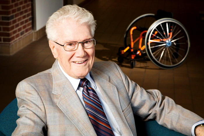 Timothy Nugent led the development of Illinois' comprehensive service program for students with disabilities  the first in the country, and still one of the few. It often required a fight against public attitudes of the time. But as a result, Illinois has helped lead the way in wheelchair sports, accessibility standards and disability rights.