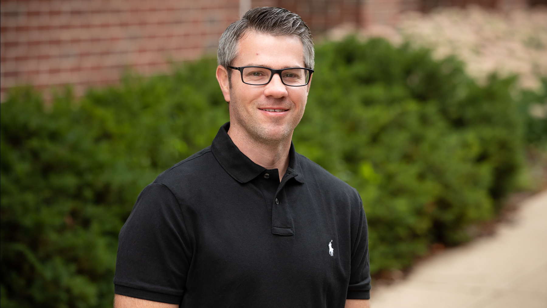 Kinesiology graduate student Brett Burrows was the first author of a study