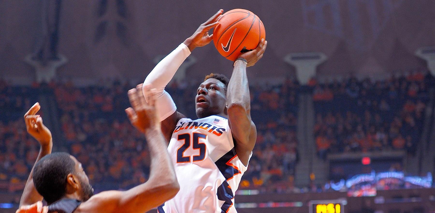 image of Illini basketball player Kendrick Nunn