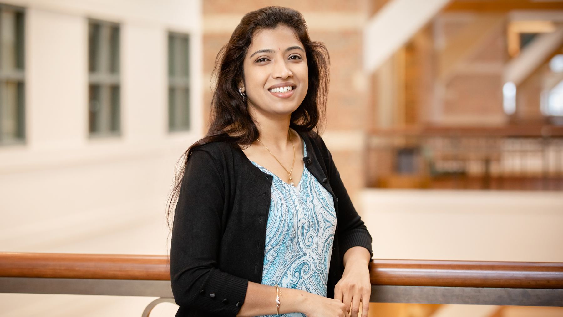 Industrial and enterprise systems engineering professor Lavanya Marla..  Photo by L. Brian Stauffer