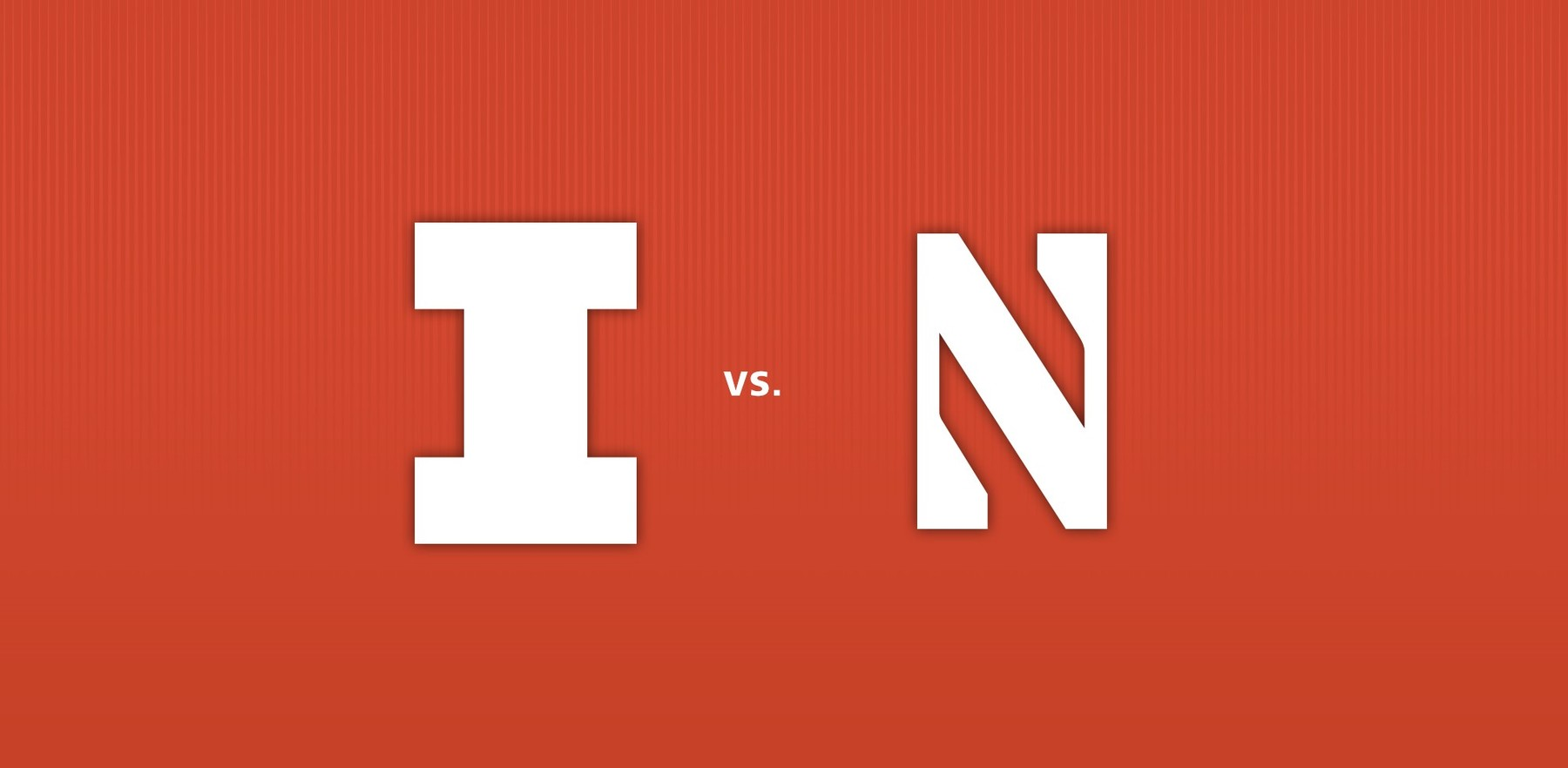 graphic image with logos for the Illini and the Wildcats