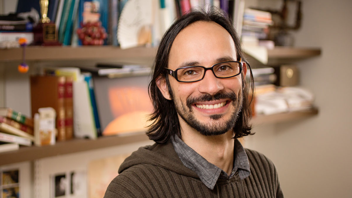 Image of University of Illinois psychology professor Alejandro Lleras
