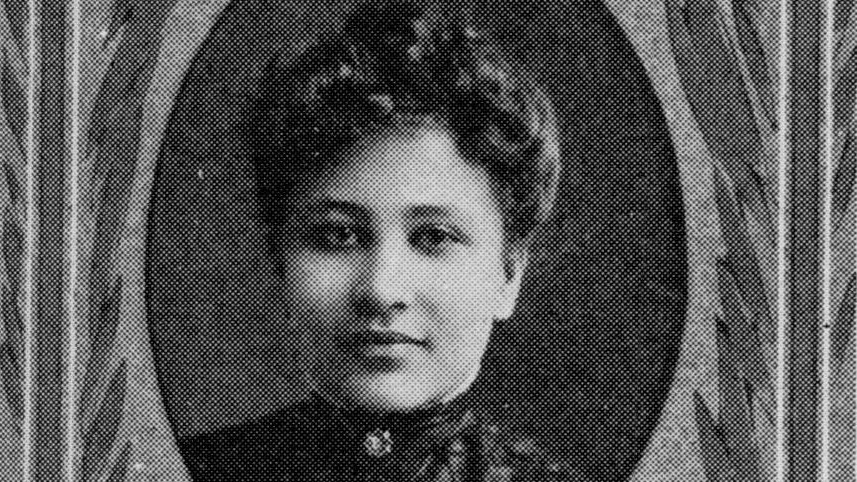 Image of Maudelle Bousfield (c. 1906) courtesty of the University Archives