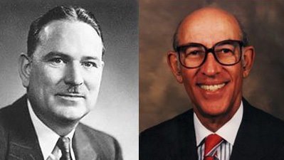 image of William Sparks (graduated in 1936) and Welton I. Taylor (BA '41, PhD '48)