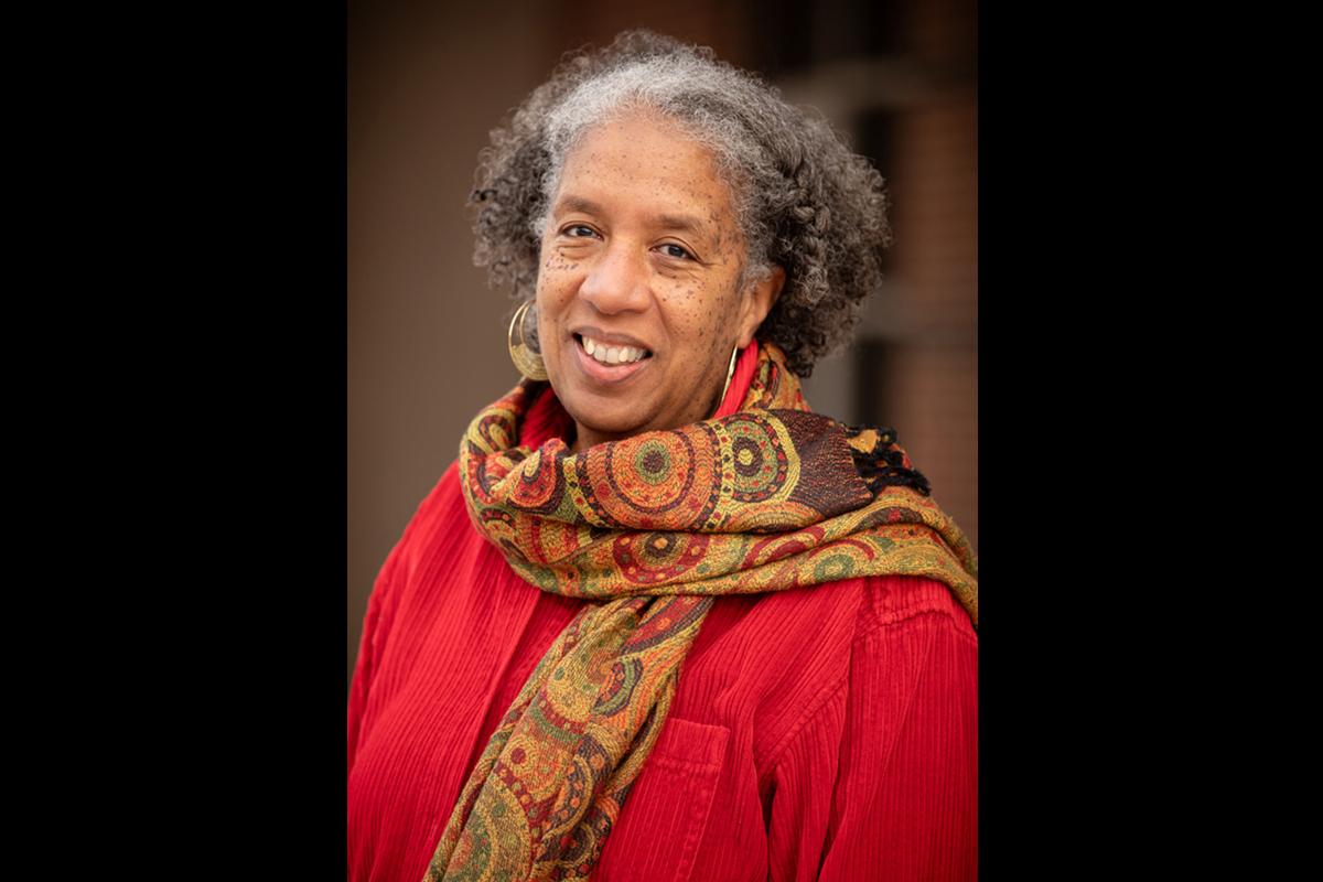 Terri Barnes, an associate professor of history. Photo by L.B.Stauffer
