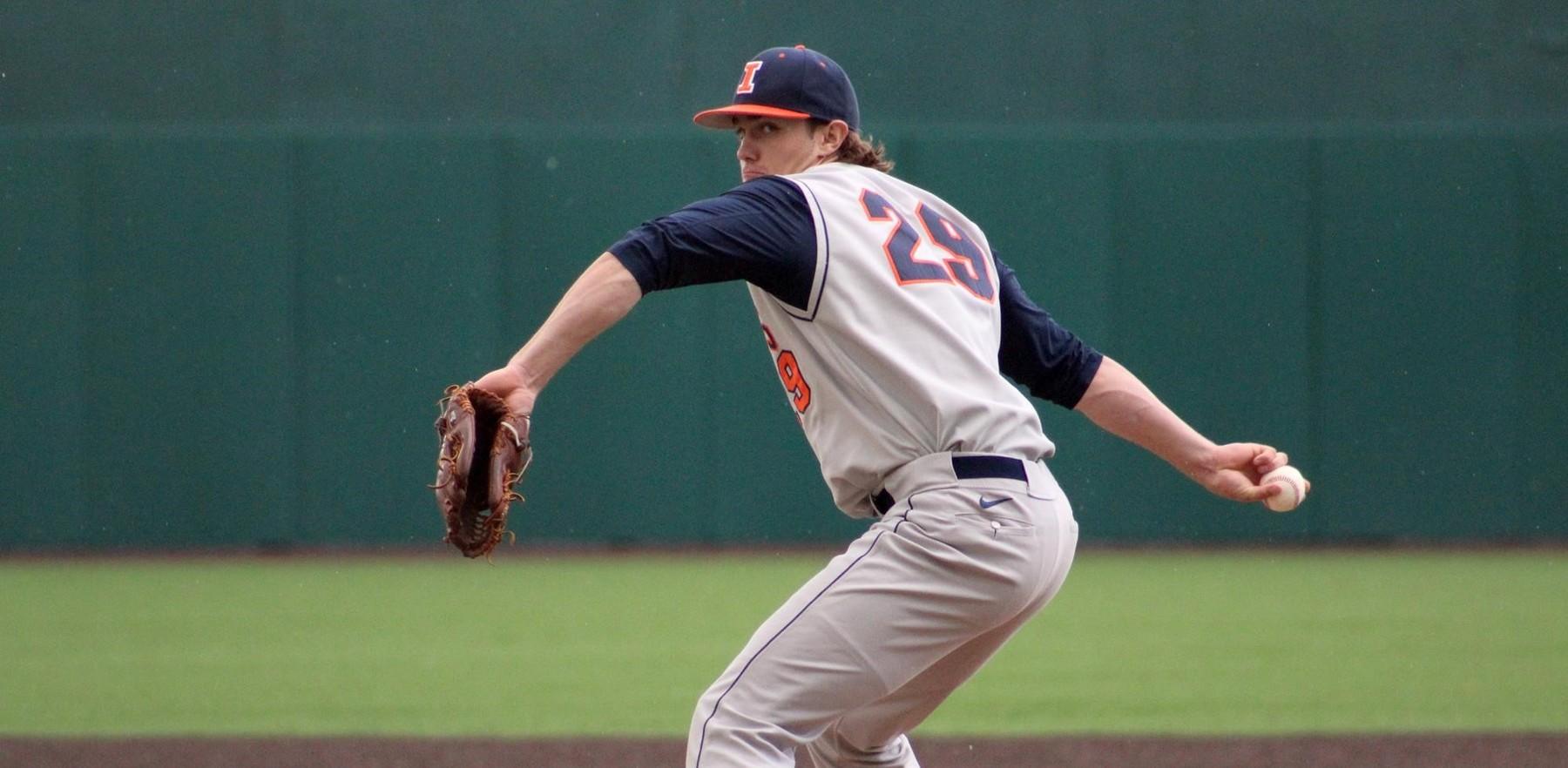 Illini pitcher Cody Sedlock