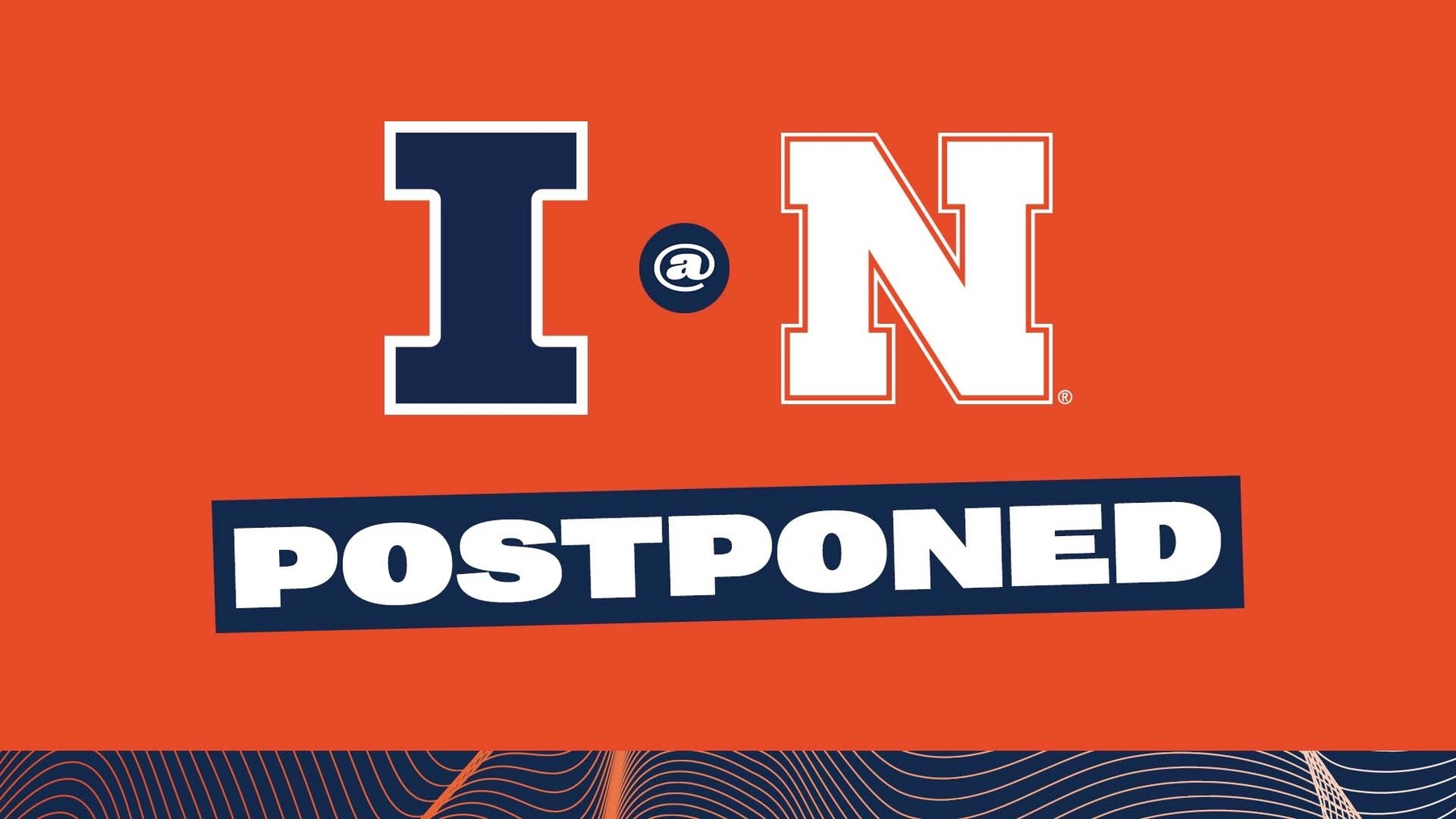 graphic: Illinois at Nebraska postponed