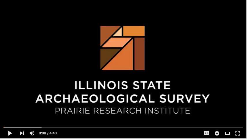 Illinois State Archaeology Survey logo