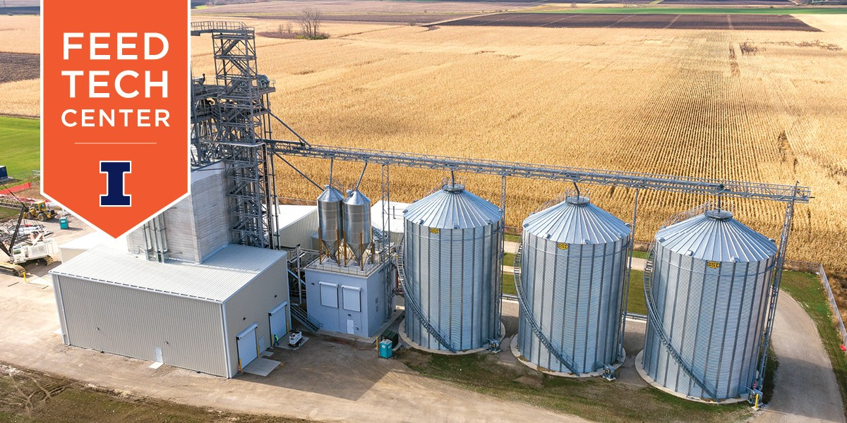 aerial view of new Feed Technology Center