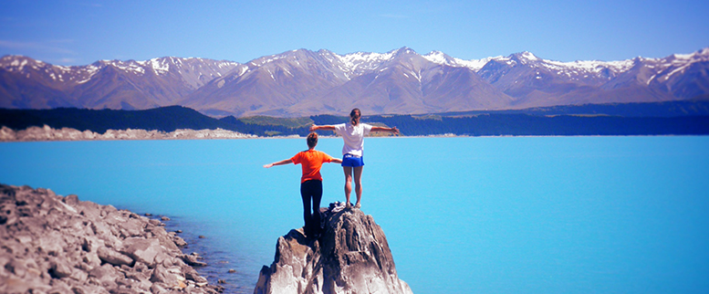Students studying abroad in New Zealand | Photo courtesy Illinois Study Abroad