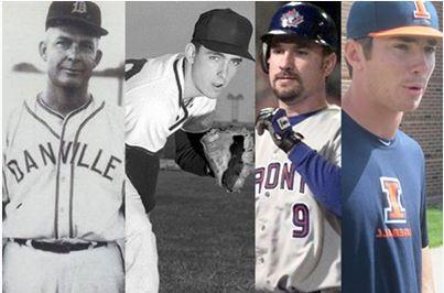 Four generations of baseball-playing Fletchers
