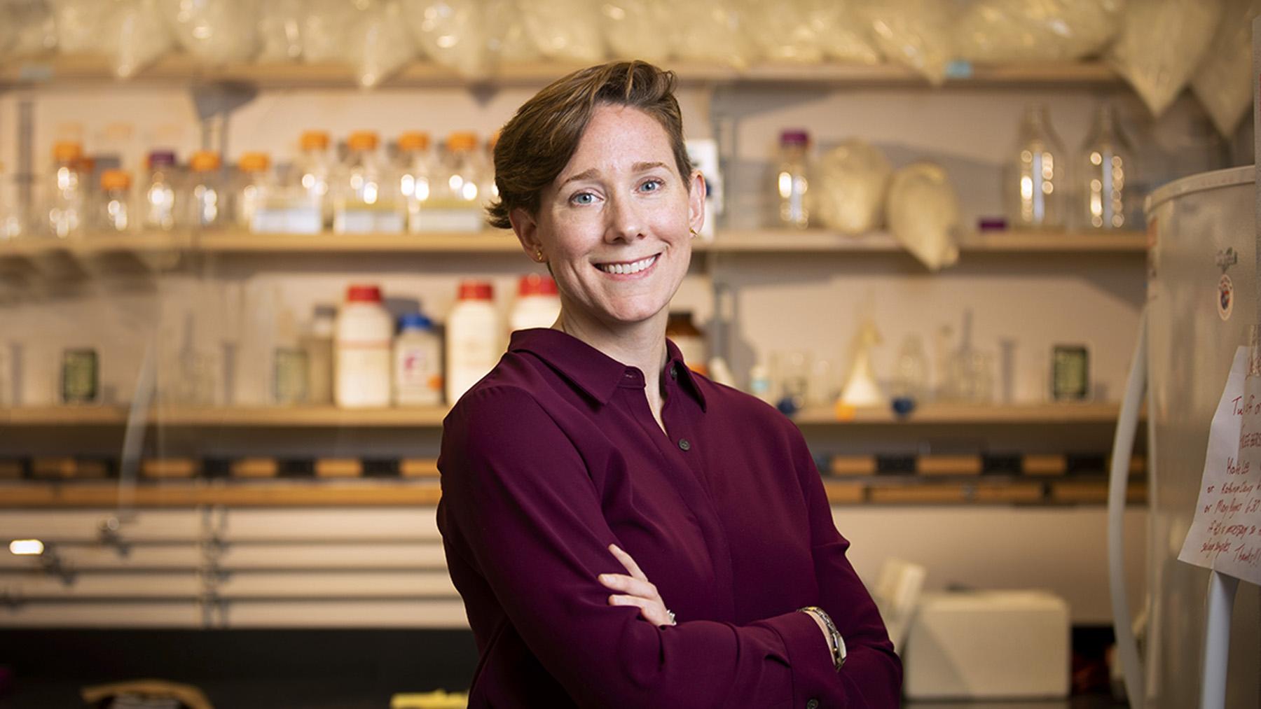 Professor Kate Clancy. Photo by L.B. Stauffer