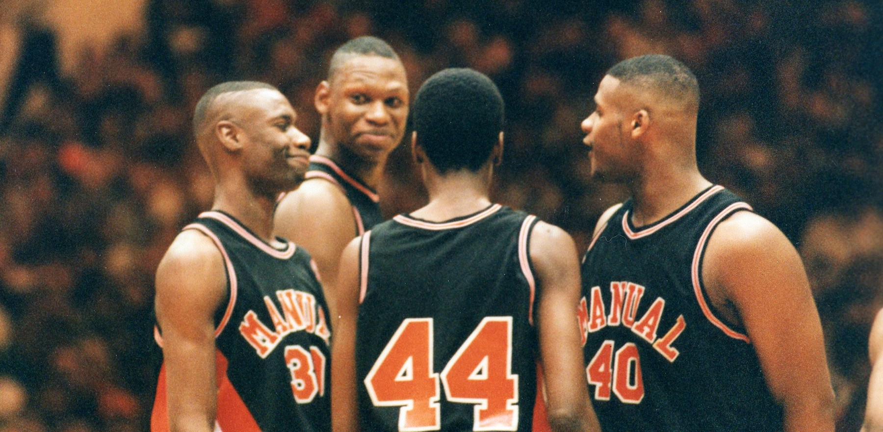 Former Illini greats on the court