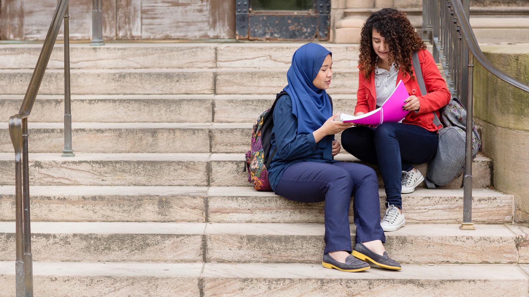 international students. Photo by L. Brian Stauffer