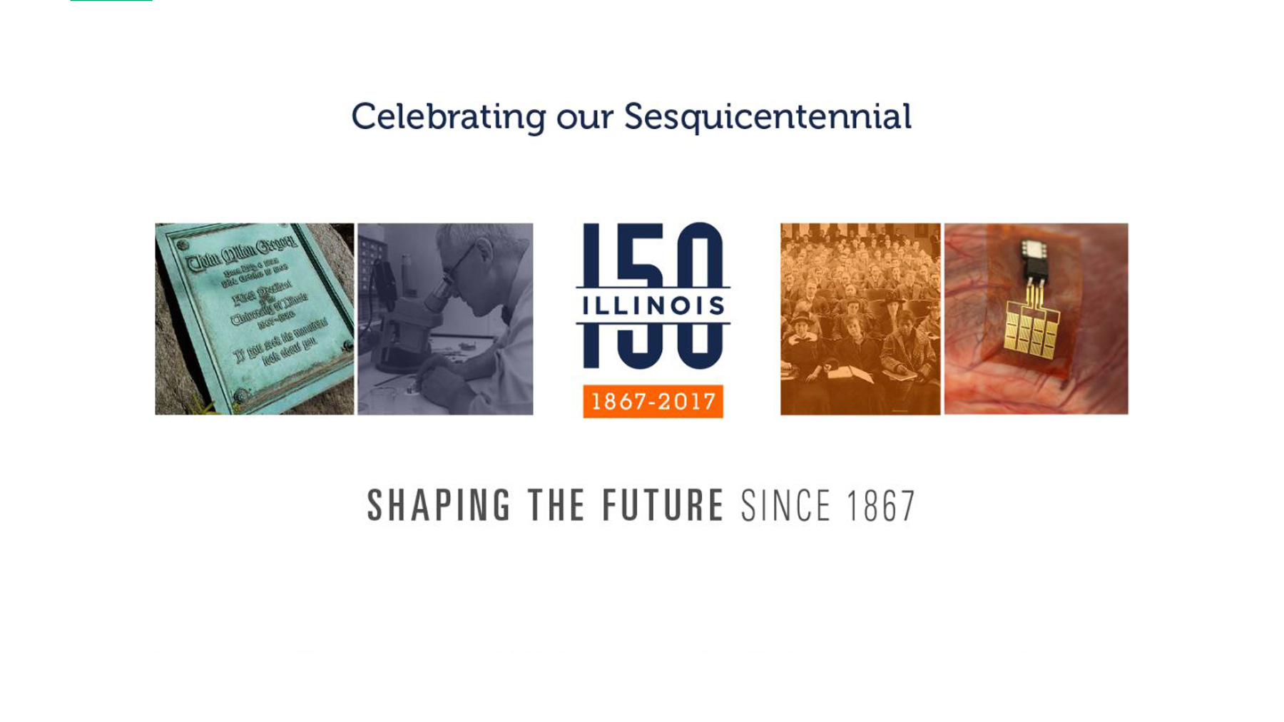 sesquicentennial graphic created by the highly talented Julie McMahon