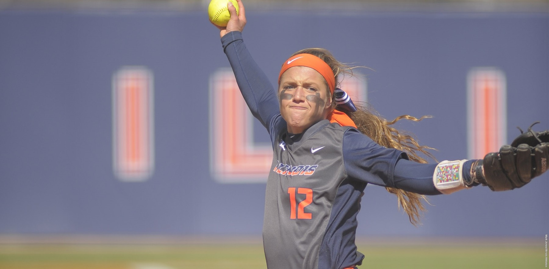 Sophomore Taylor Edwards, shown pitching, won her 12th game of the season