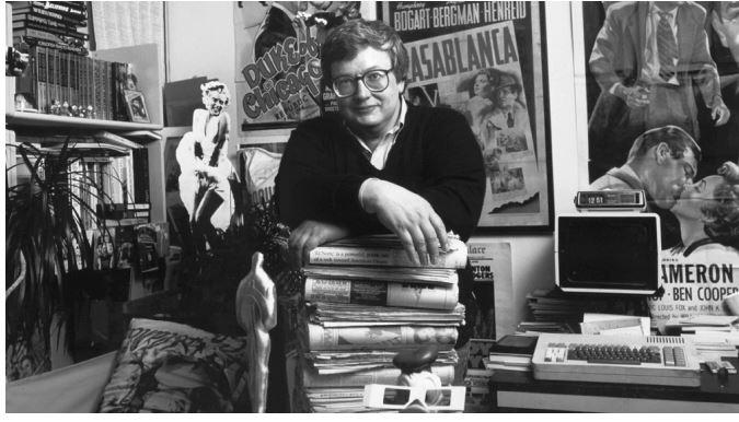 Roger Ebert. Image from Rex/Shutterstock