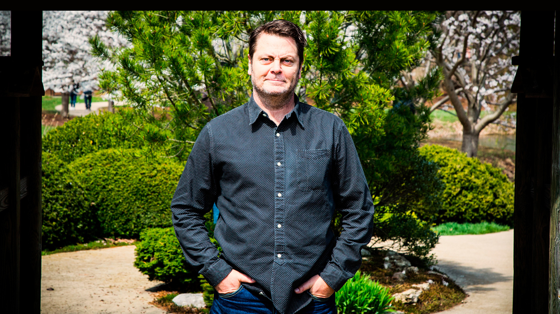 Alumnus and actor Nick Offerman, photo provided by Offerman
