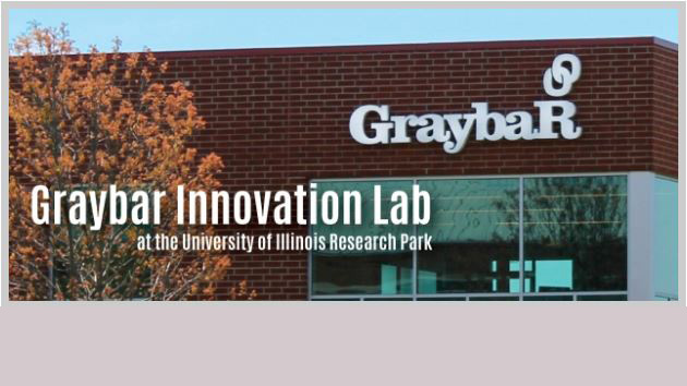 graybar signage. photo provided by research park