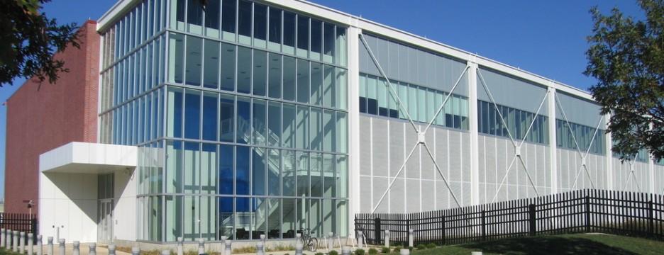 Exterior of NCSA building