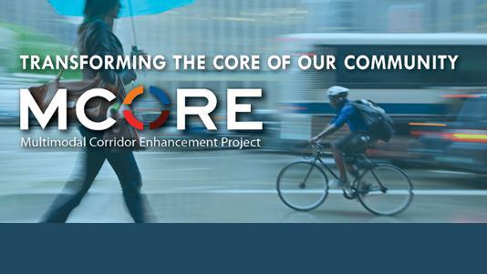 Multimodal corridor enhancement project (MCORE) header image