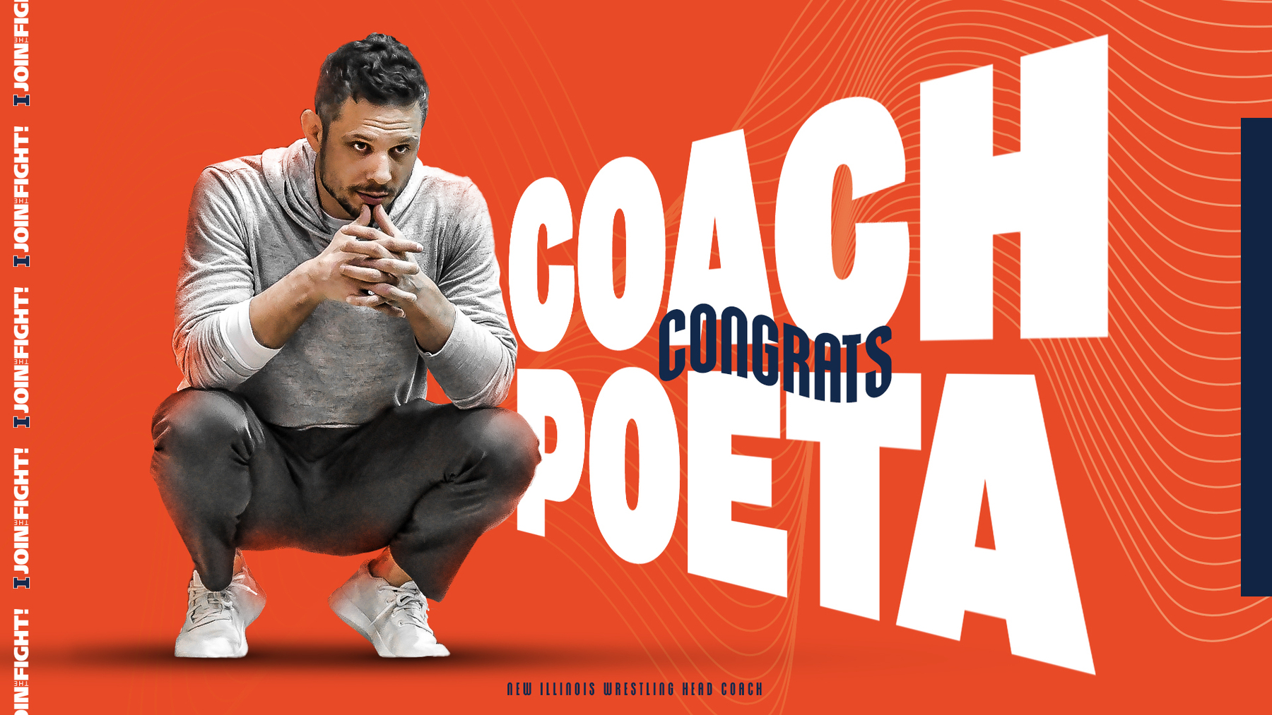 graphic: Congrats Mike Poeta