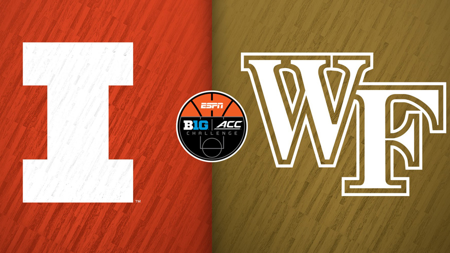 graphic for Illinois vs Wake Forest