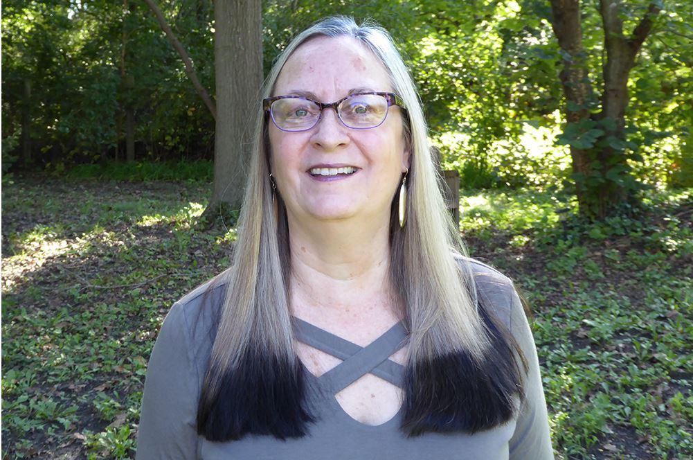 poet Julie Price, senior lecturer in English
