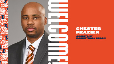 graphic featuring portrait of Chester Frazier