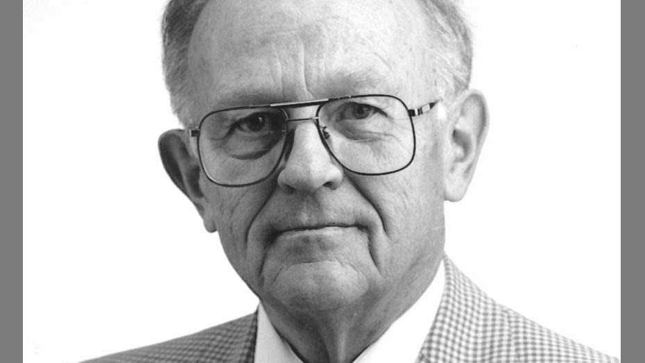 former dean Walt Franke, Photo courtesy of LER