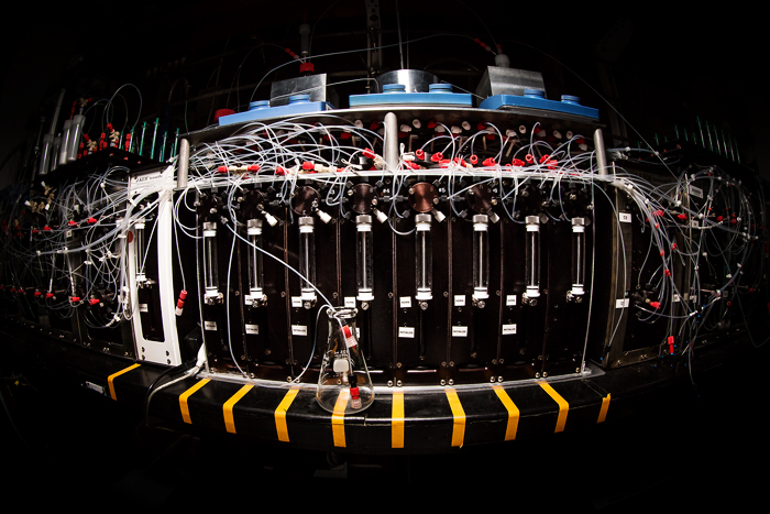 photo of automated synthesis machine | Photo by L. Brian Stauffer