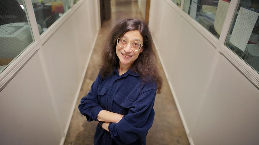 Professor May Berenbaum. Photo by Kathryn Faith