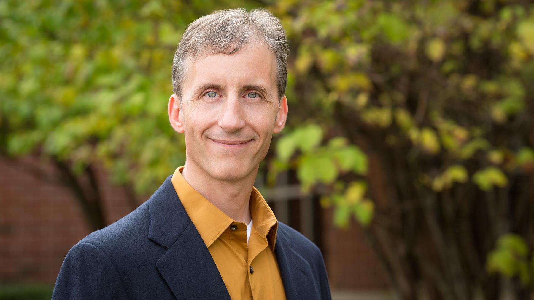 Professor Scott Althaus. Photo by L. Brian Stauffer