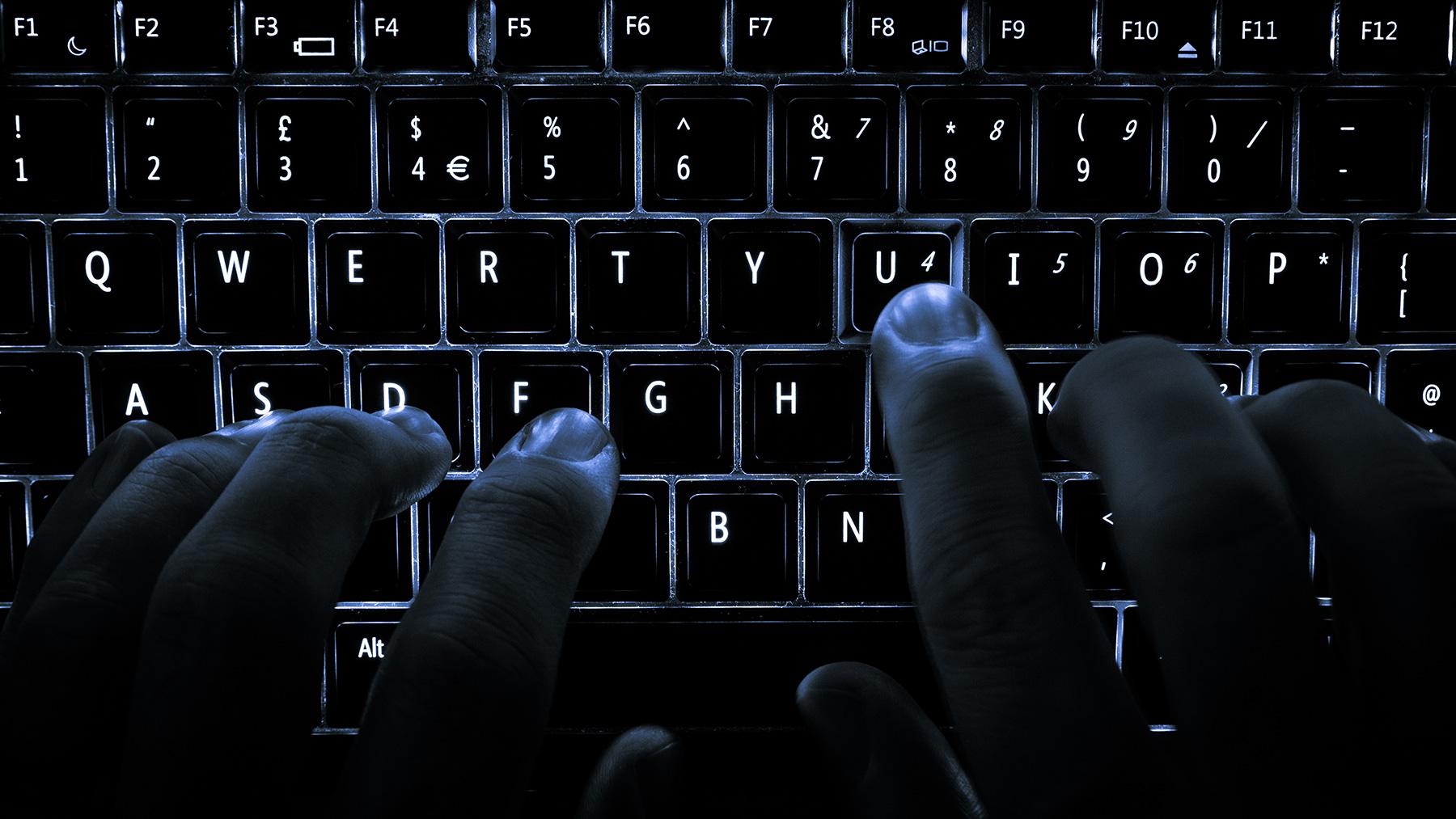 backlit keyboard photo via Wiki Commons