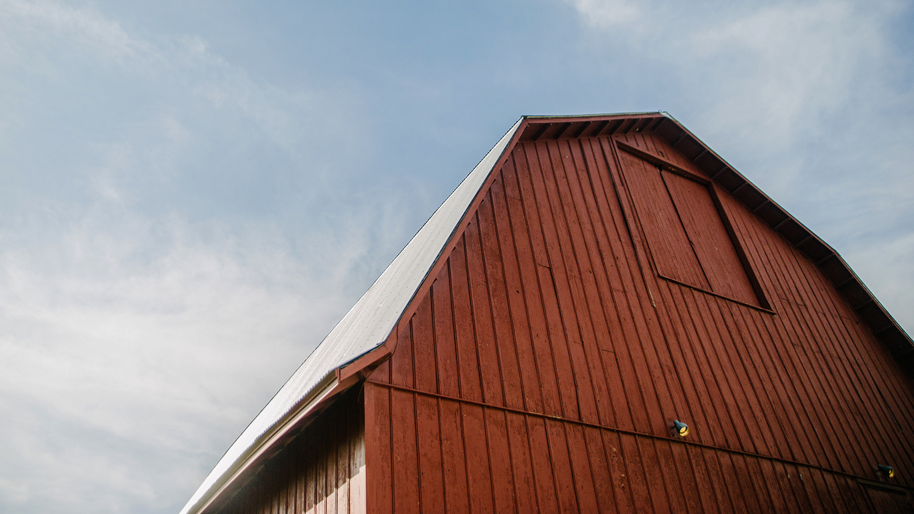 Allerton's restored barn. Photo by Kara Kamienski Photography