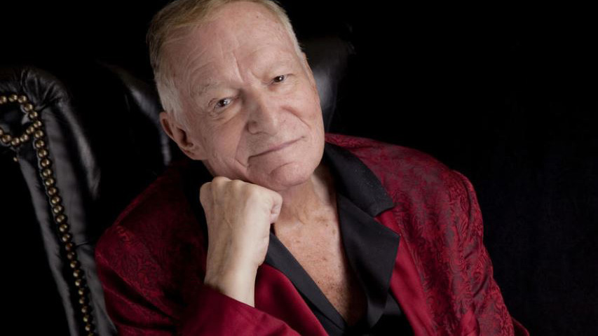 Hugh Hefner. Photo by Liz O. Baylen / Los Angeles Times